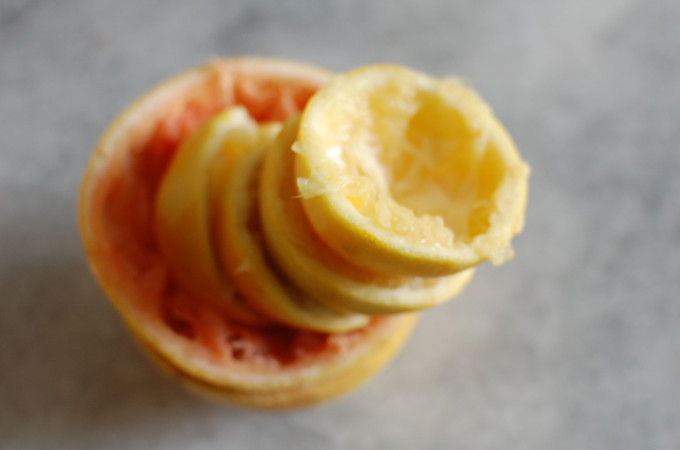grapefruit ginger curd